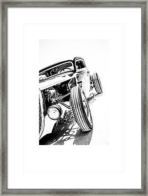 Salt Metal Framed Print