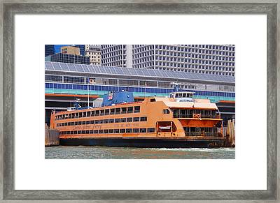 Framed Print featuring the photograph Samuel I Newhouse by Jim Poulos