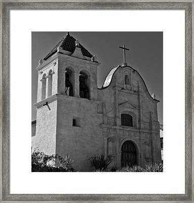San Carlos Cathedral Framed Print by Ron White