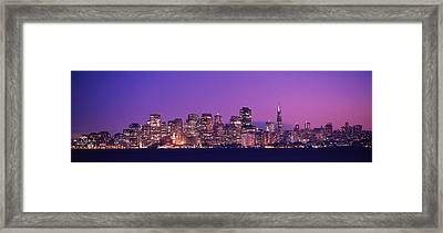 San Francisco, California, Usa Framed Print by Panoramic Images