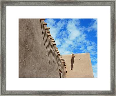 San Francisco De Asis Mission Church  Framed Print by Gia Marie Houck