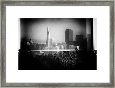 San Francisco Skylines Framed Print