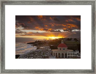 San Juan Sunrise Framed Print