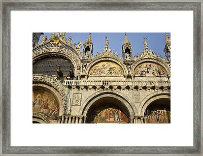 San Marco Basilica Framed Print