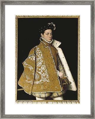 Sanchez Coello, Alonso 1531-1588 Framed Print