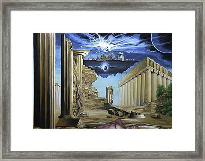 Sands Of Time Framed Print by Max CALLENDER