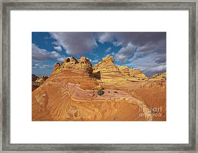 Sandstone Vermillion Cliffs N Framed Print by Yva Momatiuk John Eastcott