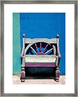 Santa Fe Chair Framed Print