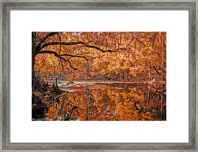 Santa Fe River Framed Print by Rich Leighton