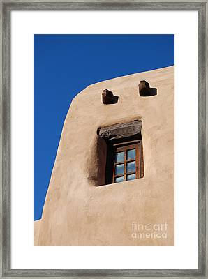 Framed Print featuring the photograph Santa Fe Secrets by Gina Savage