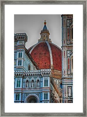 Santa Maria Del Fiore Framed Print by Nicola Fiscarelli
