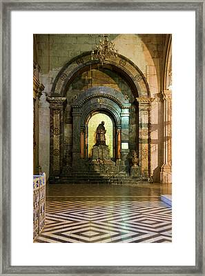 Santiago Chile South America Framed Print