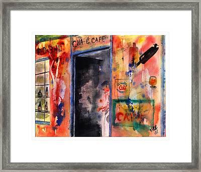 Saturday Afternoon Framed Print by Joyce Ann Burton-Sousa