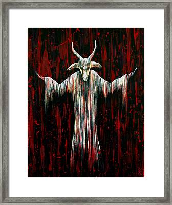 Savior Framed Print by Steve Hartwell