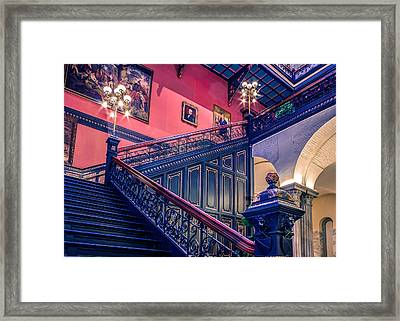Framed Print featuring the photograph Sc State House by Rob Sellers