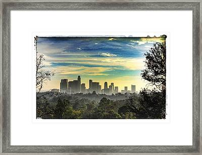 Scene @ Los Angeles Framed Print