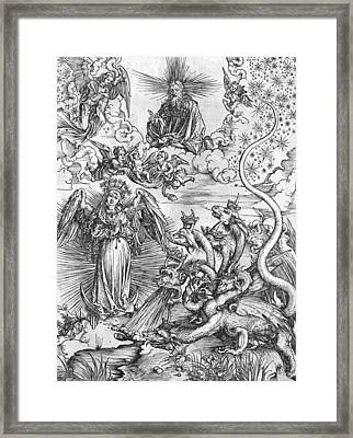 Scene From The Apocalypse Framed Print