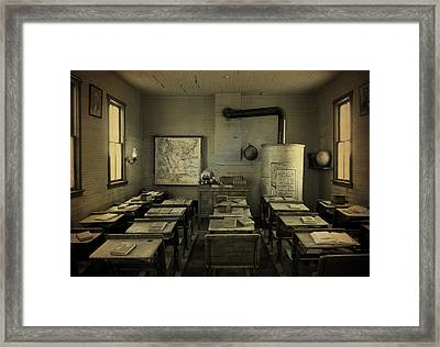 School Days Framed Print by Terry Eve Tanner