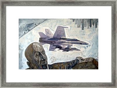 Scream Framed Print by Filip Mihail