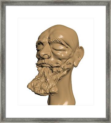 Sculpture Framed Print by Moshfegh Rakhsha