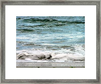 Sea Framed Print by Oleg Zavarzin