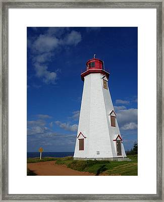 Seacow Head Light Framed Print