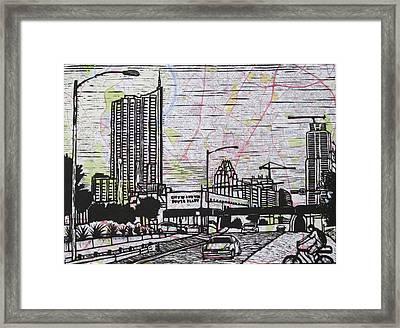 Seaholm Framed Print