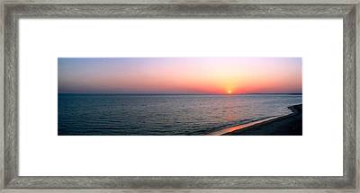 Seascape The Algarve Portugal Framed Print