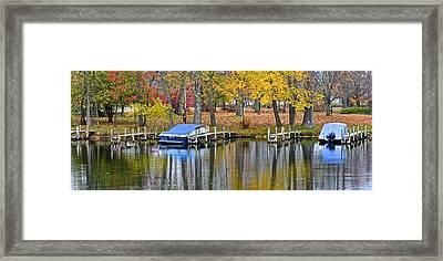Seasons End Framed Print