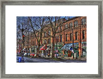 Seattle Framed Print by David Patterson