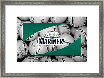 Seattle Mariners Framed Print