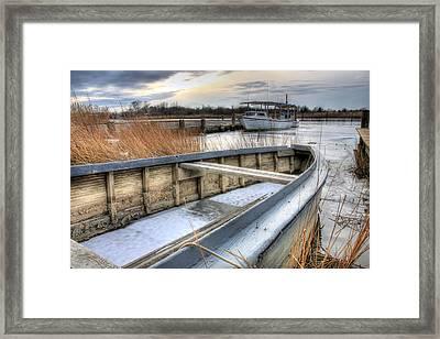 Seaworthy  Framed Print by JC Findley