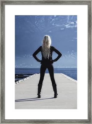 Self-confidence Framed Print by Joana Kruse