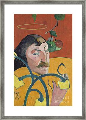 Self Portrait Framed Print by Paul Gauguin