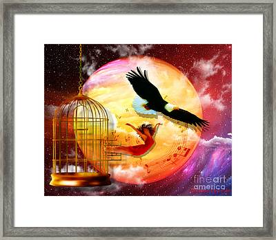 Set Free Framed Print