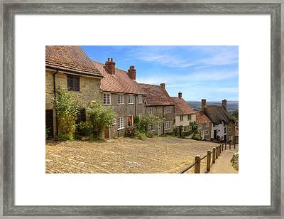 Shaftesbury - England Framed Print by Joana Kruse