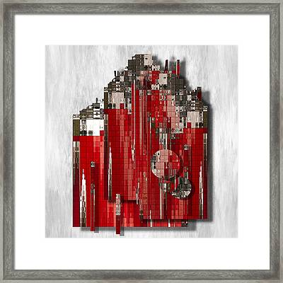 Shapes Of Things Framed Print