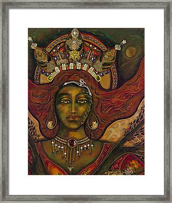 She Who Knows Framed Print by Marie Howell Gallery
