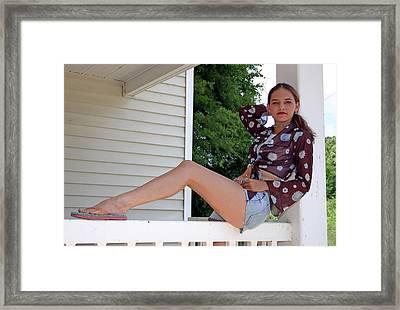 Sheena Trammell Framed Print by Joseph C Hinson Photography