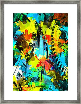 Shifting Gears Framed Print by Catherine Harms