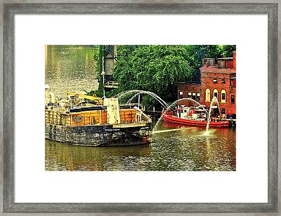 Ship Shape Framed Print by Frozen in Time Fine Art Photography
