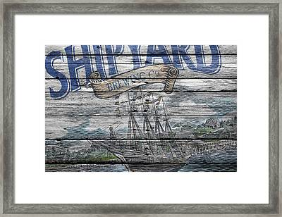 Shipyard Brewing Framed Print by Joe Hamilton