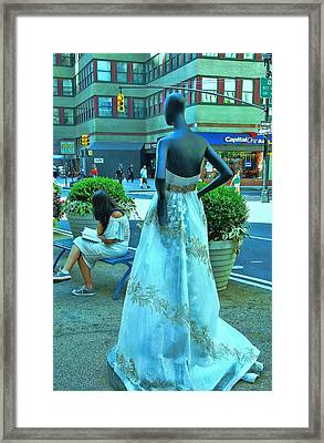 Sidewalk Catwalk 13 Framed Print by Allen Beatty