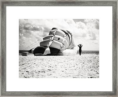 Silhouette Framed Print by Richie Stewart