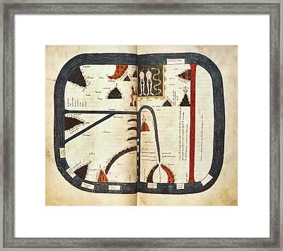Silos Apocalypse Framed Print