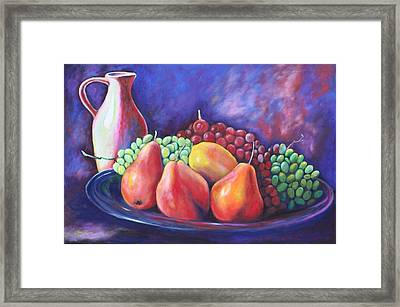 Simple Abundance Framed Print by Eve  Wheeler