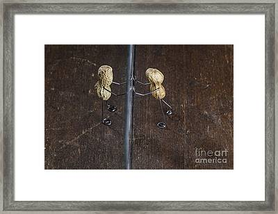 Simple Things - Apart Framed Print by Nailia Schwarz