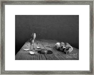Simple Things Easter Framed Print by Nailia Schwarz