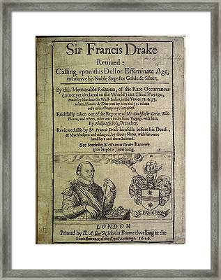Sir Francis Drake Framed Print by British Library