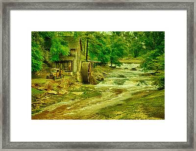 Sixes Mill Framed Print by Priscilla Burgers